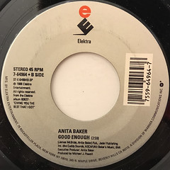 ANITA BAKER:TALK TO ME(LABEL SIDE-B)