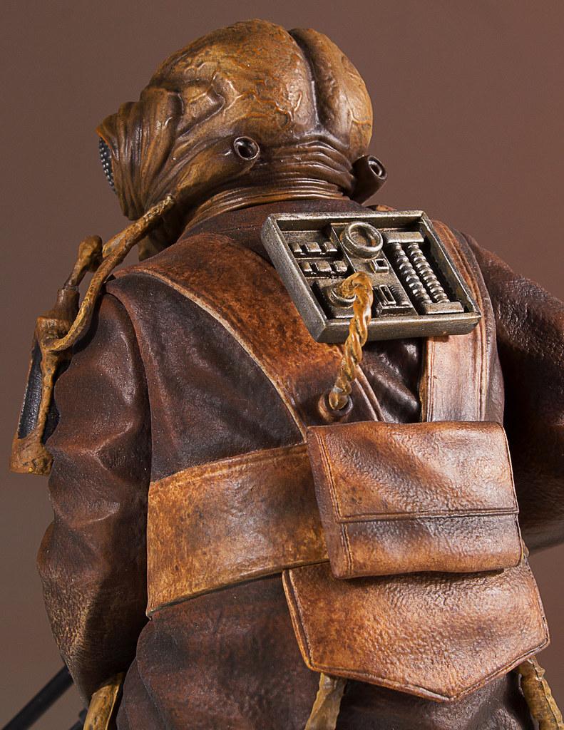 超冷門的賞金獵人!! Gentle Giant Collector's Gallery 星際大戰【扎庫斯】Zuckuss 1/8 比例全身雕像作品