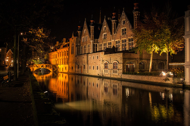Quiet Night in Bruges
