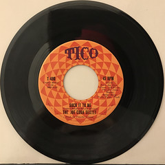 THE JOE CUBA SEXTET:OH YEAH!(RECORD SIDE-B)