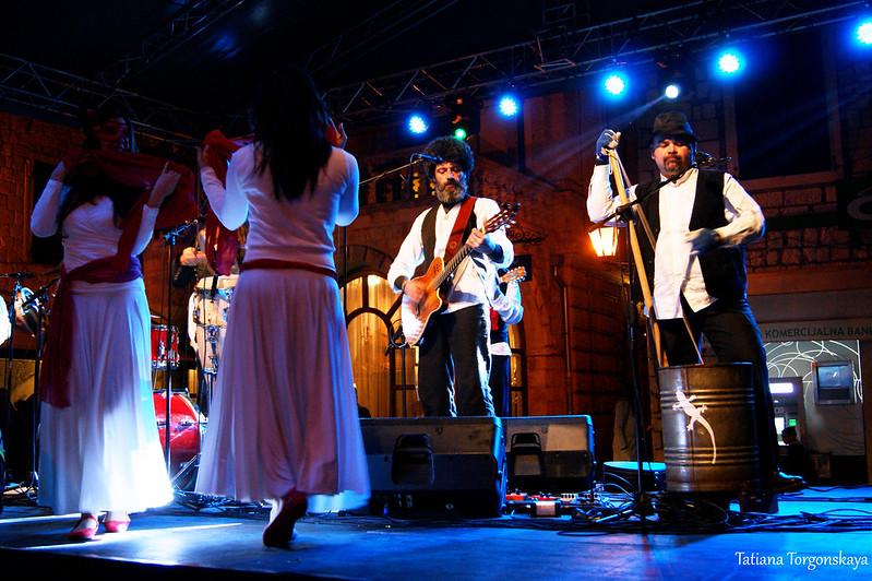"""Выступление группы """"Terraross"""" в Которе"""