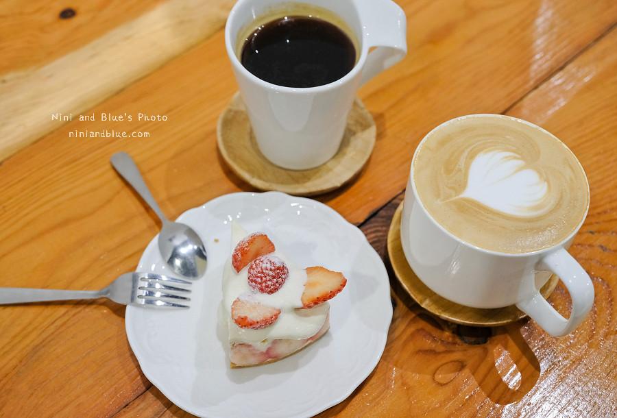 草屯咖啡草莓甜點 甜客思17