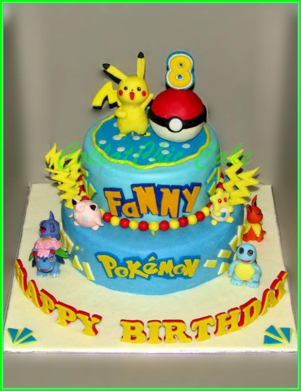 Cake Pokemon FANNY 20+15 cm