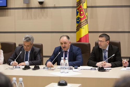 29.01.2018 Întrevedere deputați fracțiuni parlamentare PL, PLDM, PCRM cu delegația comună a Comisiei de la Veneția și OSCE/ODIHR