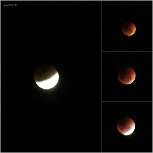 Super blue blood moon and the lunar eclipse...