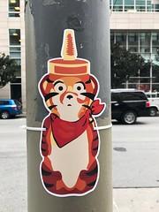 Tony the Tiger honey bear