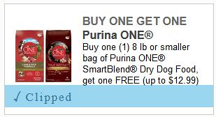 picture about Purina One Printable Coupon named Conserve even more than 50% off Purina dry puppy foods with clean