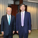 President Nakao discusses nuclear science and the SDGs with IAEA head