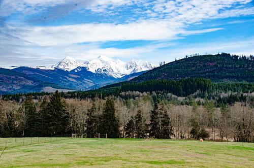Mount Baker from Highway 9