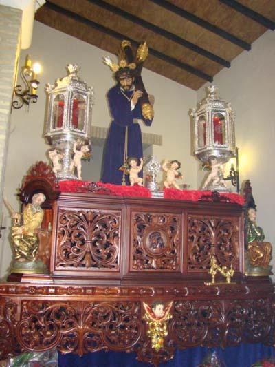 Antigua Cofradía de los Nazarenos de las Cabezas de San Juan y Santa Hermandad Sacramental del Señor Nº Padre Jesús Nazareno, María Santísima de las Angustias y San Juan Evangelista.