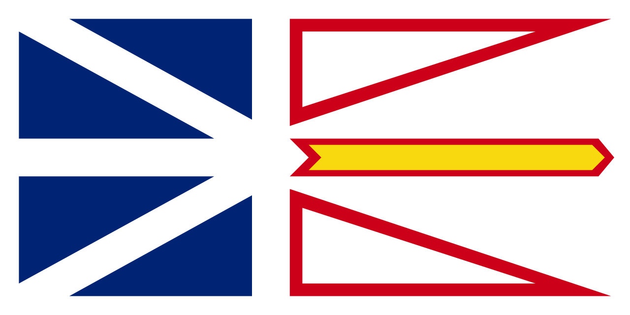 Province of Newfoundland and Labrador flag