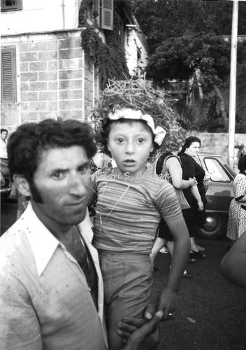 Acquaro frazione di Cosoleto (RC), 1973, Festa di San Rocco: gli