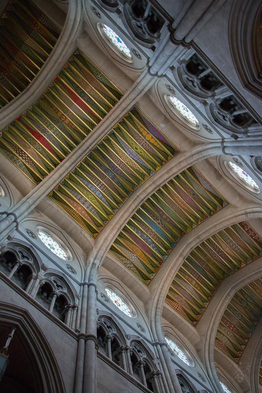 Colores en la Catedral de la Almudena (Madrid)