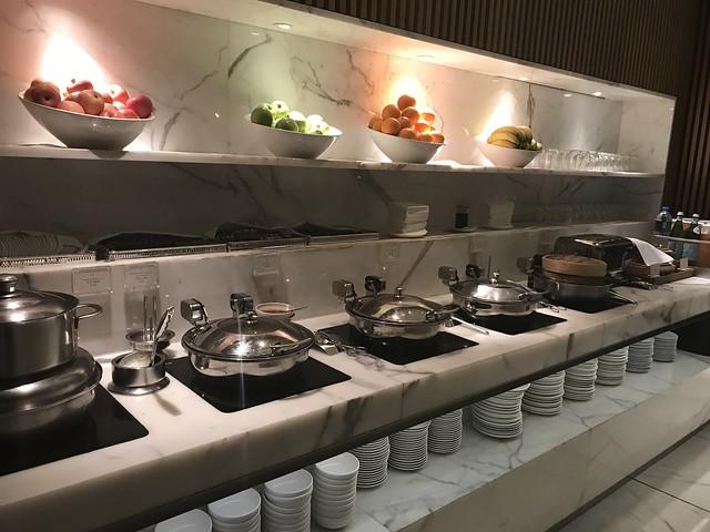 CX HK lounge, Feb 10, 2018