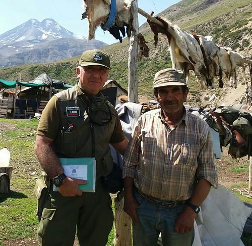 COLBÚN; Carabineros de Chile Resguarda territorios limítrofes en cordillera Maulina