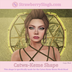 StrawberrySingh.com Catwa-Keme Shape