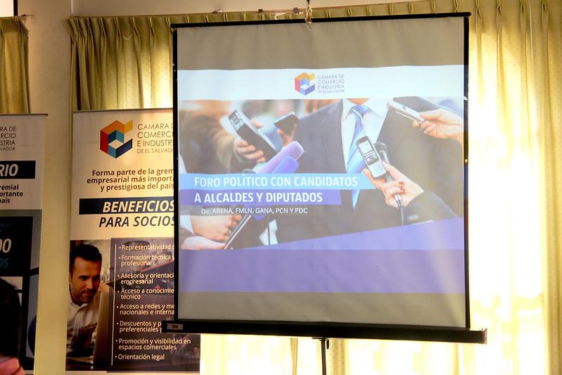 Foro político con candidatos a Alcaldes y Diputados para Sonsonate