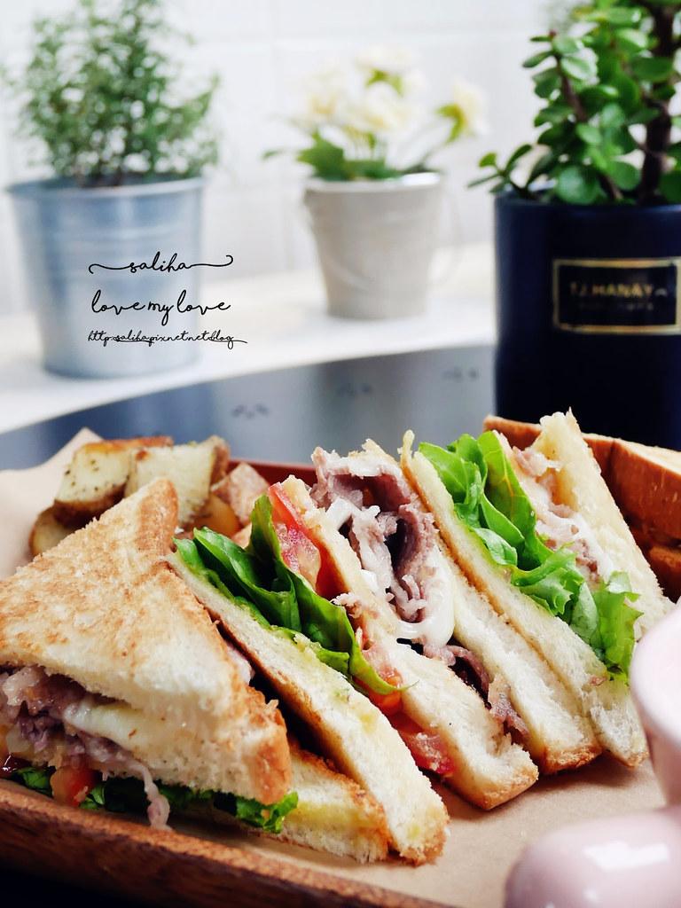 新店大坪林附近餐廳推薦再來咖啡好吃早午餐輕食蛋糕 (2)