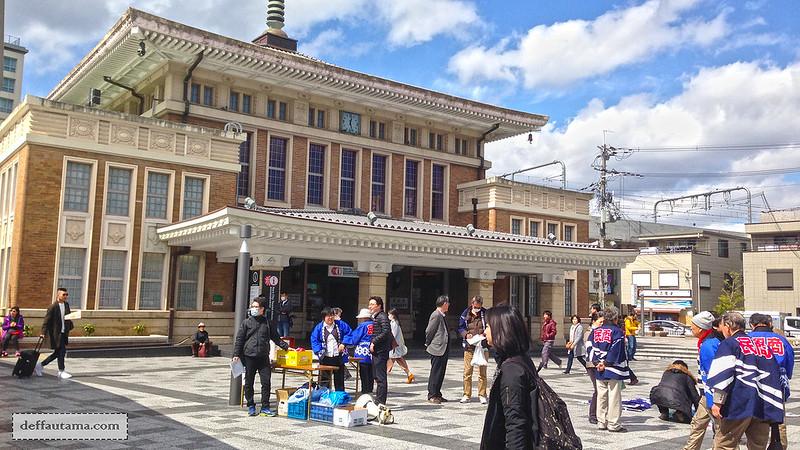 Setengah Hari di Nara - JR Nara Station