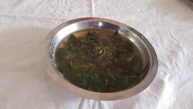 Potherb soup