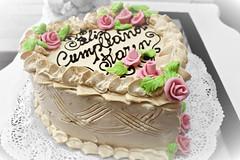 Tortas tradicionales de Omi Gretchen - Torta blanca