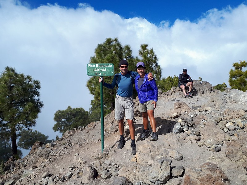 At Pico Bejenado.