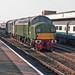 D335 + 31285 Leamington Spa 29th October 1987.