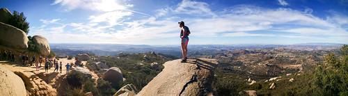 potato chip rock mt woodson summit san diego california hiking