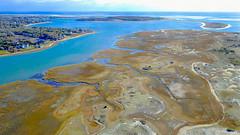 Hardings Beach Marsh Aerial