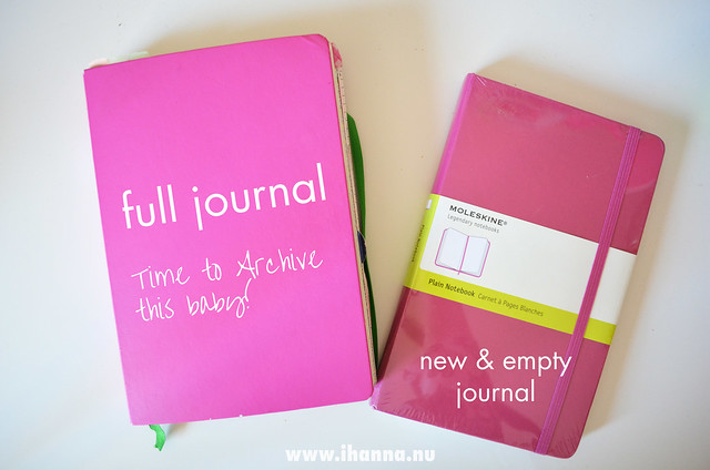 Full journal vs. New Journal