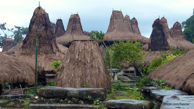 Kampung Tarung above Waikabubak, Sumba Barat