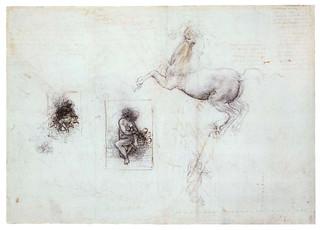 davinci-painting-Studies_of_Leda_and_a_horse