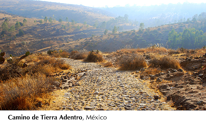 Camino de Tierra Adentro, México
