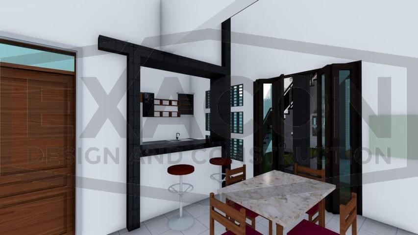 Proyek II Rumah Minimalis Modern Bapak Rafa - Depok 10 EXACON, Jasa Desain Interior Rumah