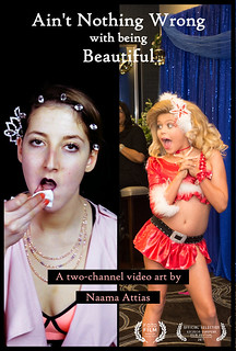 Ain't Nothing Wrong With Being Beautiful - Theatrical Poster