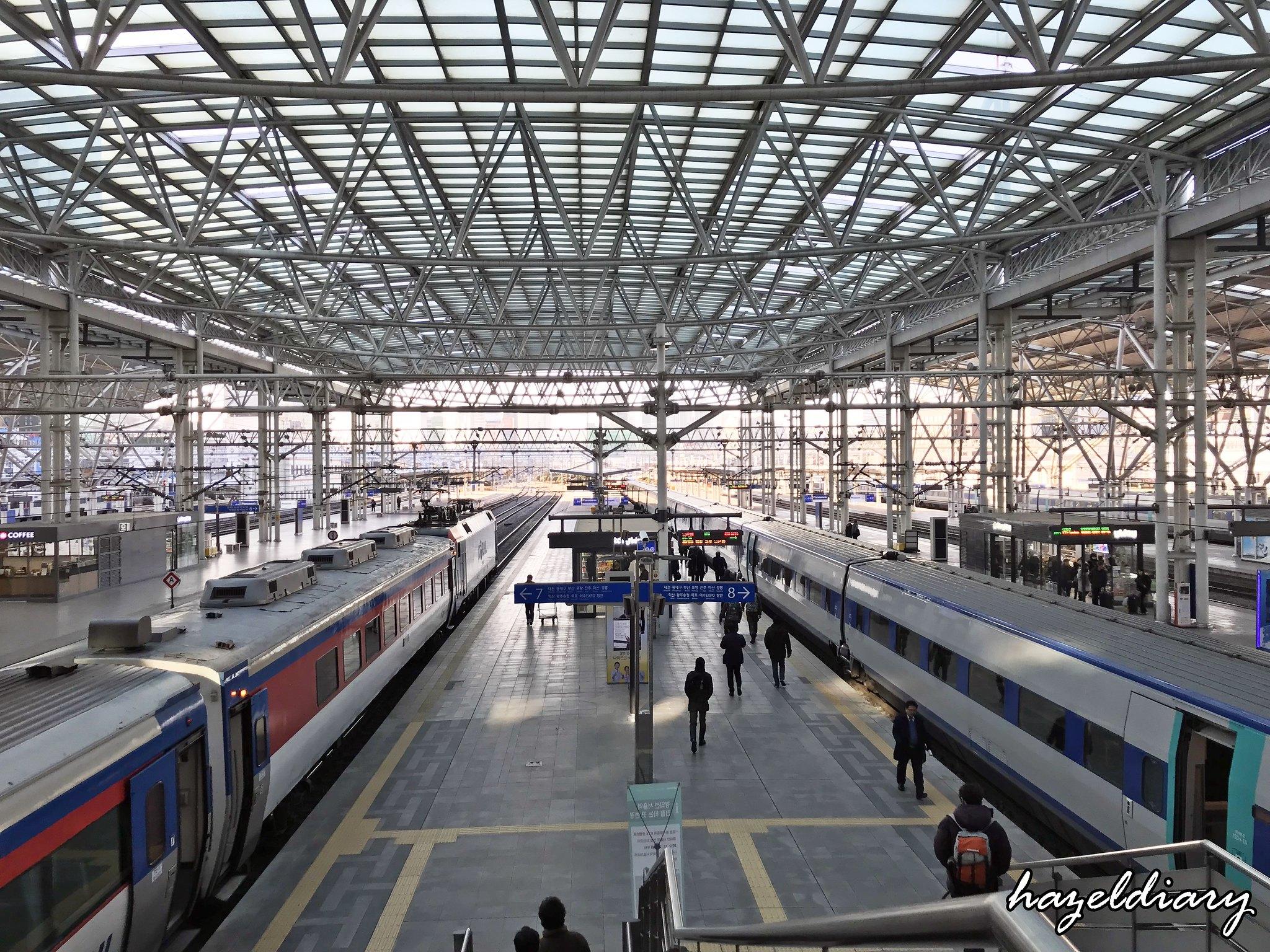 Busan-Seoul Station