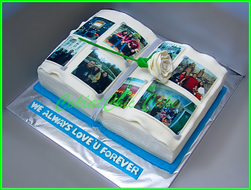 Cake Photo Book - 15x22 cm