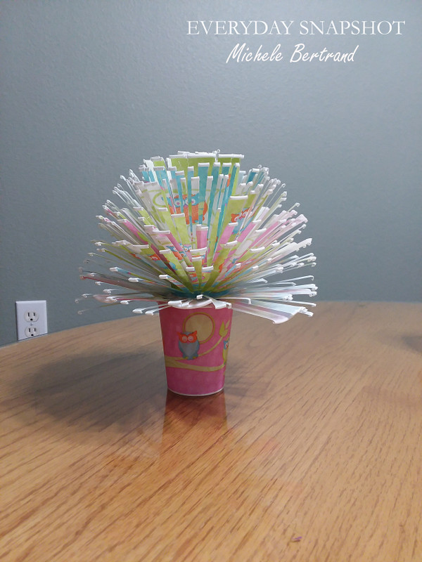 Dixie Cup Flower Bouquet 3