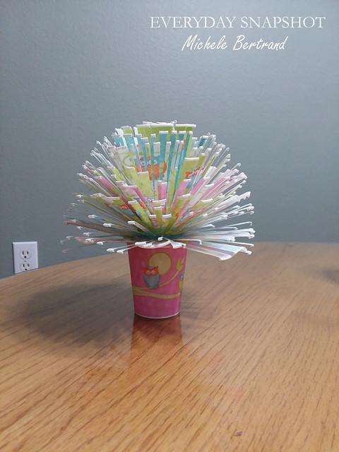 Dixie Cup Flower Bouquet 3