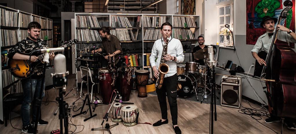 Tadas Pasaravicius Quintet – Debut album recording