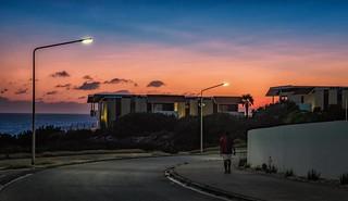 Curaçao sunset walk