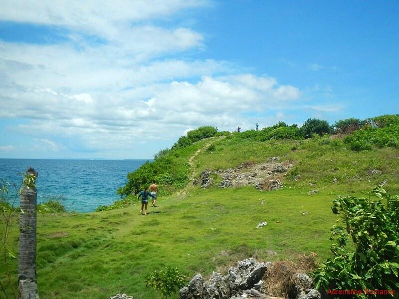 Behind Lapus Lapus Cliff