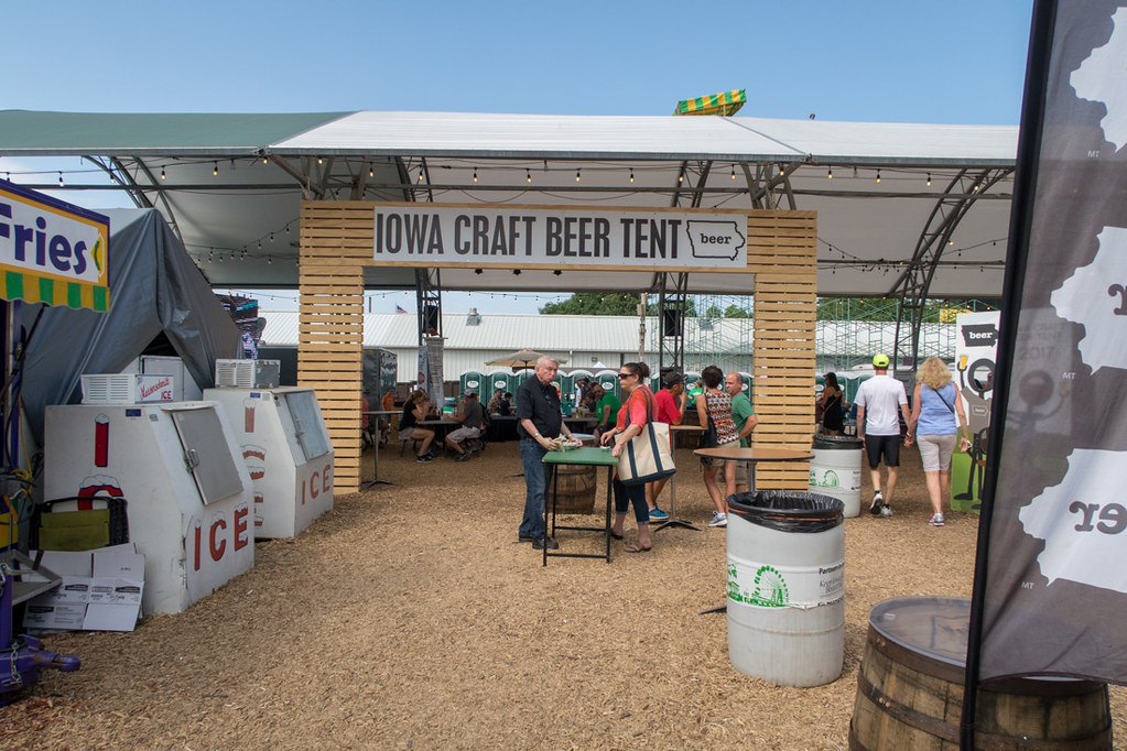 Craft Beer Tent at Iowa State Fair