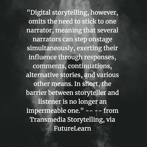 Transmedia Storytelling No Barriers