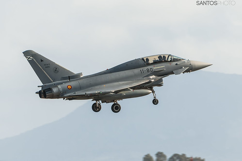 CE.16-13 - 10005 / 11-80 Spanish Air Force Eurofighter Typhoon T