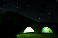 A dazzling sight. Unending night. Our trip to mount apo. The highest mountain on the Philippines