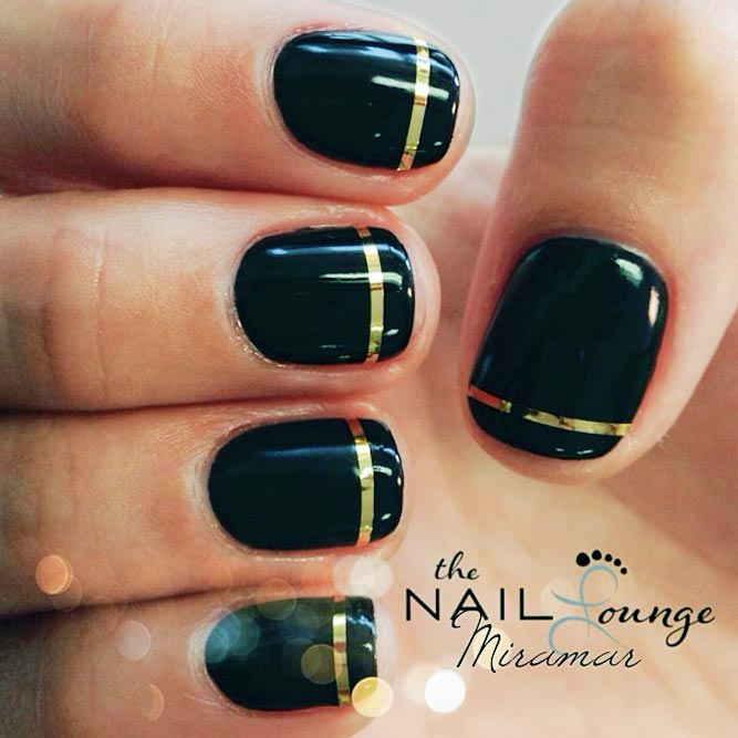 Easy Nail Designs For Short Nails With Tape Hireability