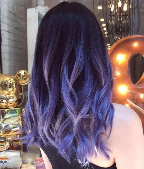 Best 22 Purple Balayage Hair Ideas Styles 2d