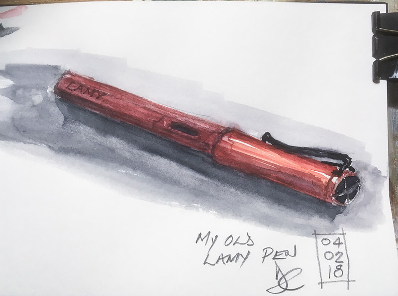 My old Lamy pen