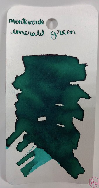 Ink Shot Review Monteverde Emerald Green @MonteverdePens @KnightsWritingC 4